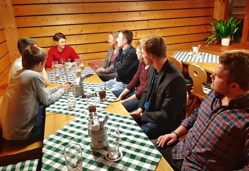 Zu Gast: CSU-Bundestagsabgeorgnete Katrin Staffler