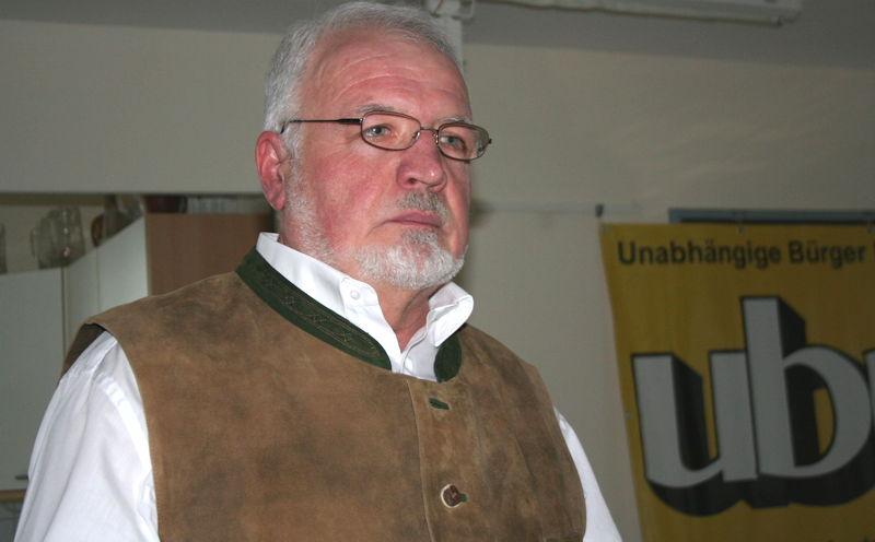 Max Keil zur Energiewende. Foto: Dr. Reinhold Koch