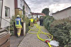Explodierender Akku verursacht Kellerbrand in der Tannenstraße