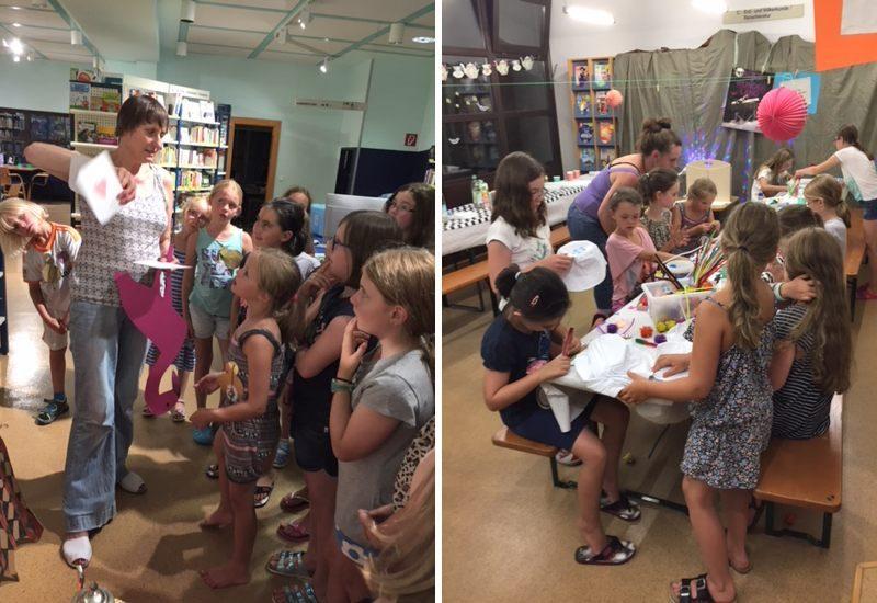 Lesenacht in der Stadtbibliothek – Auf den Spuren von Alice im Wunderland