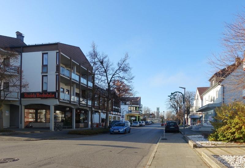 Die Lochhauser Straße in Puchheim. Foto: DRAGOMIR STADTPLANUNG