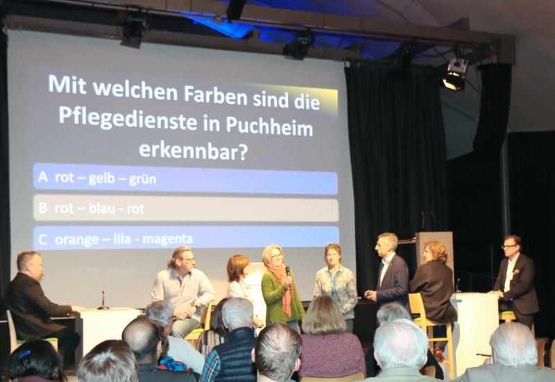 Quizshow beim Neubürgerempfang 2019 in Puchheim.