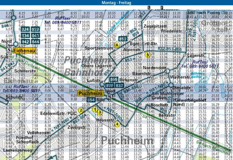 ubp möchte Busverkehr in Puchheim verbessern