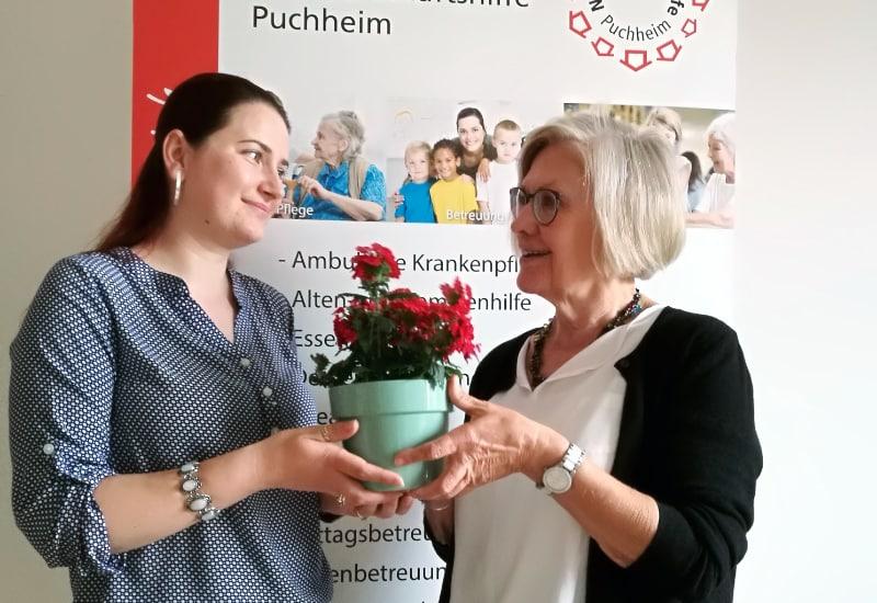 Lizetta Simon (Leitung) und Dorothea Sippel (1. Vorsitzende).