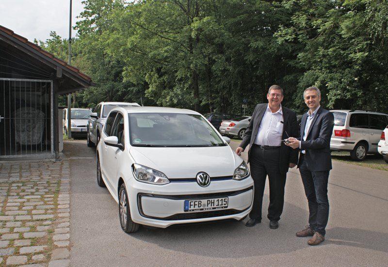 Neues Elektroauto für die Stadt Puchheim