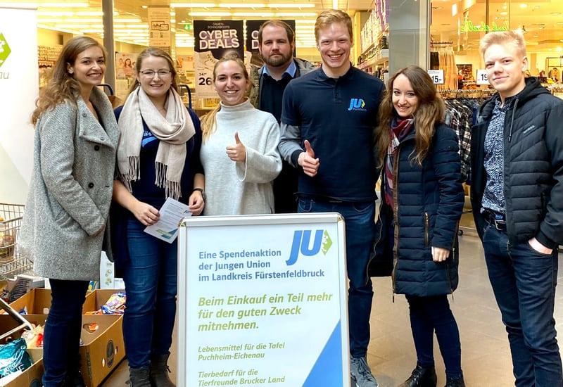 Spendenaktion JU Puchheim und Germering