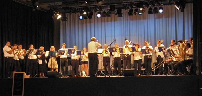 Posaunenchor musiziert beim Stadtfest Puchheim
