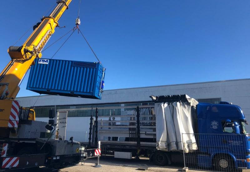 Proton Motors neues Container-Brennstoffzellen-System ist für Deutschlands größtes Wasserstoffkraftwerk fertiggestellt