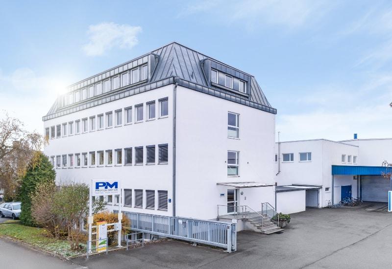 Firmensitz der Proton Motor Fuel GmH in Puchheim