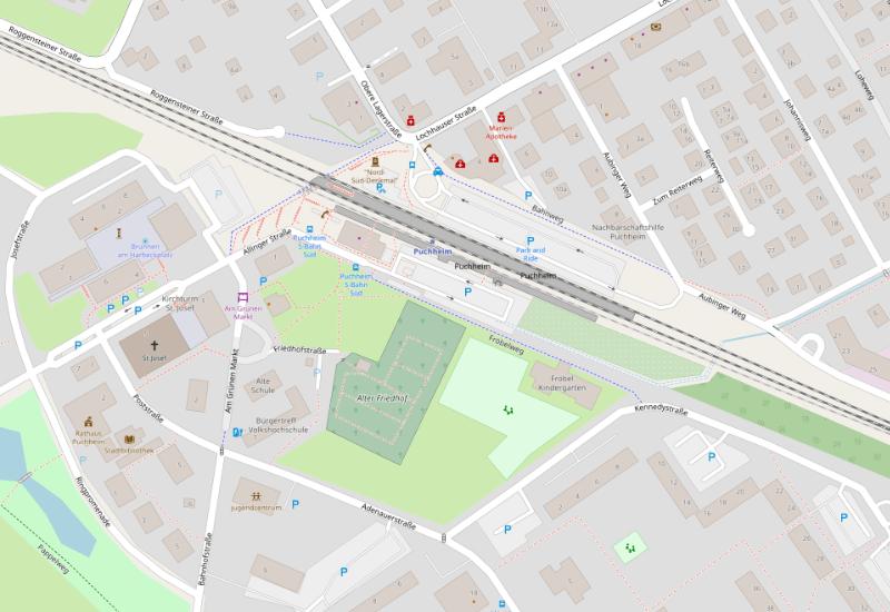 Der Puchheimer Bahnhof