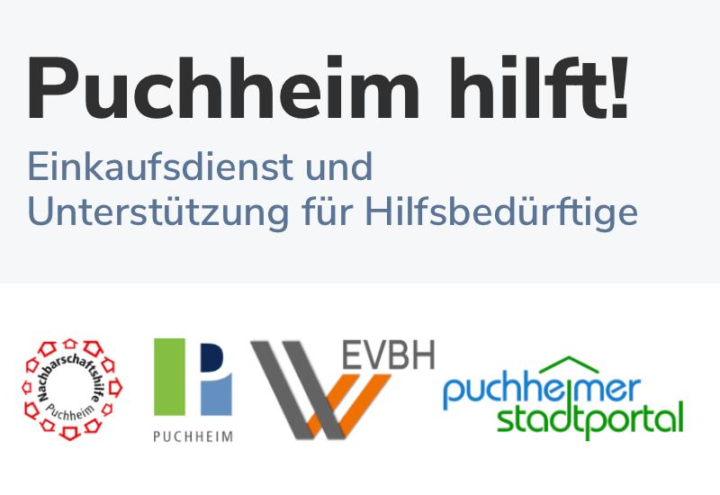 Aktion Puchheim hilft! vermittelt Kontakt zwischen Hilfsbedürftigen und freiwilligen Helfern