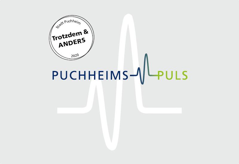 PUCHHEIMS PULS 2020 – Der Sonderpreis geht an die Lehrkräfte der Puchheimer Schulen. Grafik: Stadt Puchheim