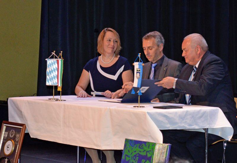 Puchheim feiert 25 Jahre deutsch-ungarische Städtepartnerschaften