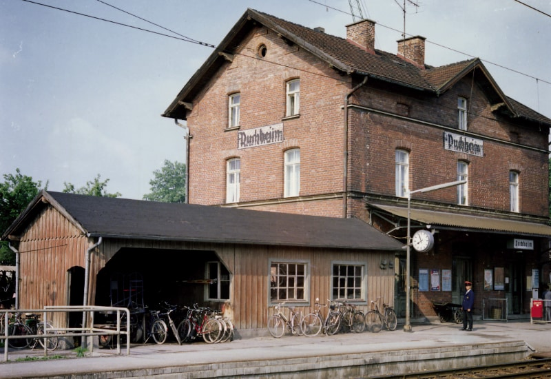 Der alte Puchheimer Bahnhof.