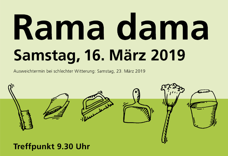 Rama dama in Puchheim