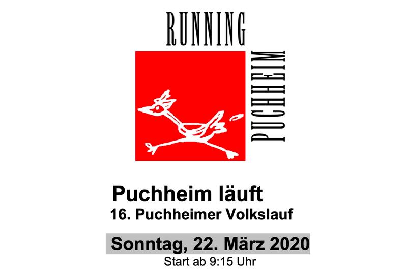 Der Puchheimer Volkslauf am 22. März 2020