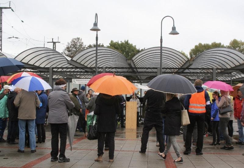 Der Ausbau des Puchheimer Bahnhofs ist ein Dauerthema