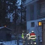 Brennende Sauna in Puchheim-Bahnhof