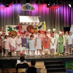 Das tolle Ensemble des 'Schlaraffentheaters'. Foto: Musikschule Puchheim