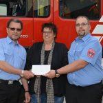 Waffeln für die Feuerwehr – Spendenübergabe