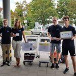 Große Spendenbereitschaft bei den Puchheimer Bürgerinnen und Bürgern vor dem AEZ