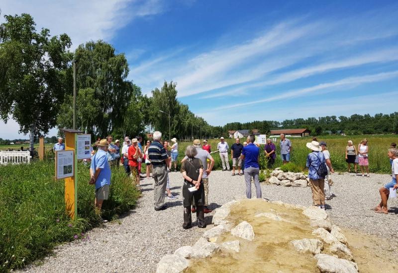 Der neue Wildbienengarten in Puchheim.