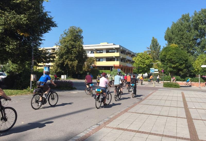 Halbzeit beim Stadtradeln: Puchheim hat sich an die Spitze im Landkreis gesetzt.