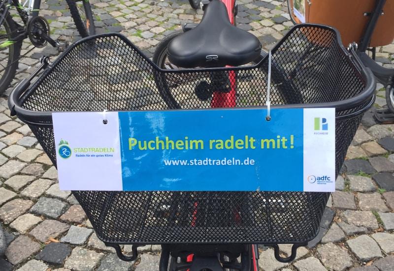 Noch bis Samstag, 3. Juli, können fleißig Radlkilometer für das Puchheimer STADTRADELN gesammelt werden