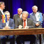Jubiläumsfeier anlässlich der 25-jährigen Städtepartnerschaft mit Attnang-Puchheim
