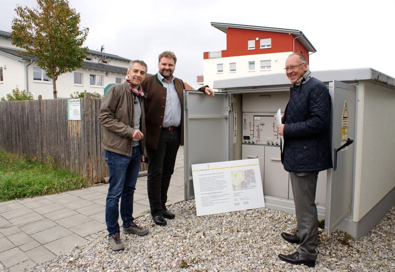 Offizielle Inbetriebnahme der Stromleitung zwischen Puchheim und Gröbenzell