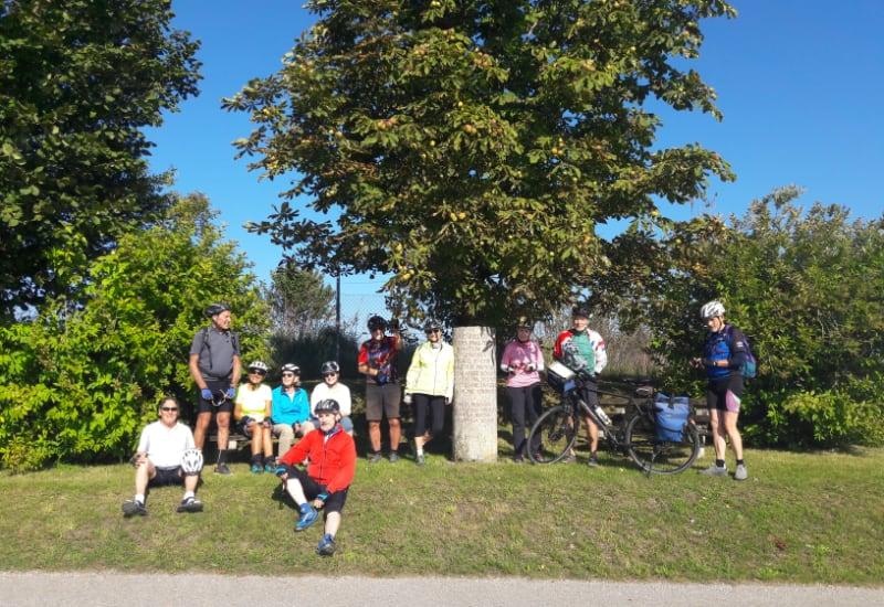 Das Team Sportfreunde Puchheim e.V. sammelt fleißig Kilometer.