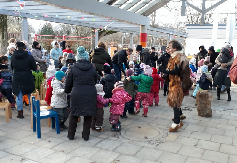 Mitmachmusiktheater im Haus für Kinder