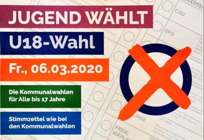 Am Sonntag, 15.03., finden die Kommunalwahlen in Bayern statt. Jugendliche können bei der U18-Wahl teilnehmen.