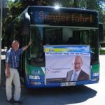 Busrundfahrt mit Wolfgang Wuschig, Foto: M. Limbacher