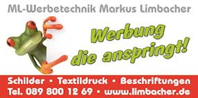 ML Werbetechnik - Schilder - Textildruck - Beschriftungen