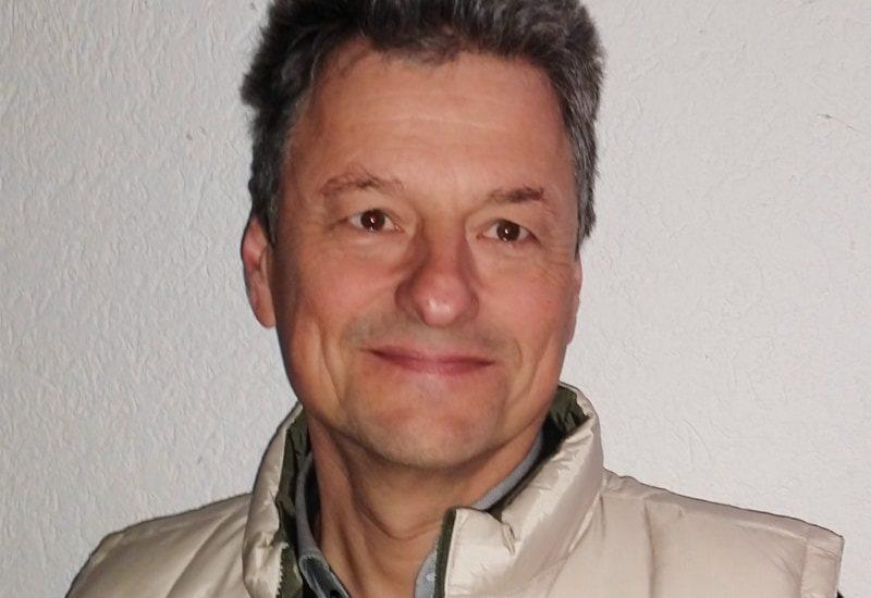 Volker Heydkamp, der Vorsitzende des TC Puchhein
