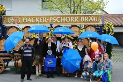 Puchheimer Volksfest: Einzug der Vereine