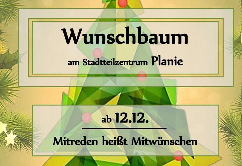 wunschbaum planie