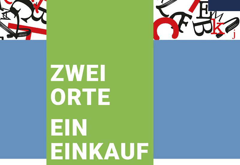 """Schaufenster-Aktion """"Zwei Orte, ein Einkauf"""" vom 8. bis 21. Mai in Eichenau und Puchheim."""